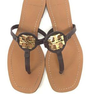 Tory Burch Size 6 Brown Miller Sandals